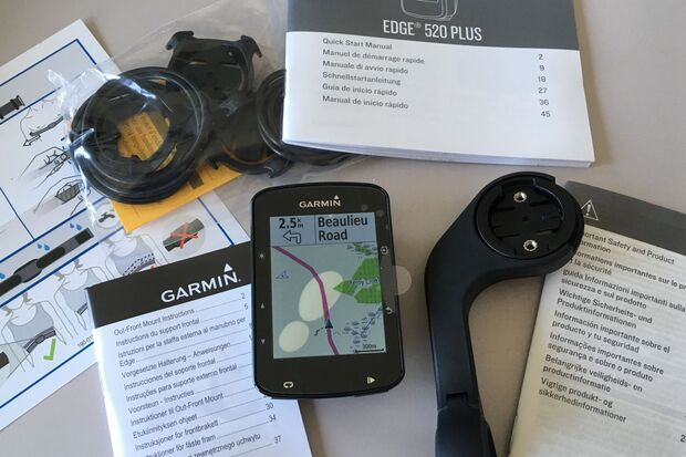 RB Garmin Edge 520 plus Dauertest 2018 Unboxing